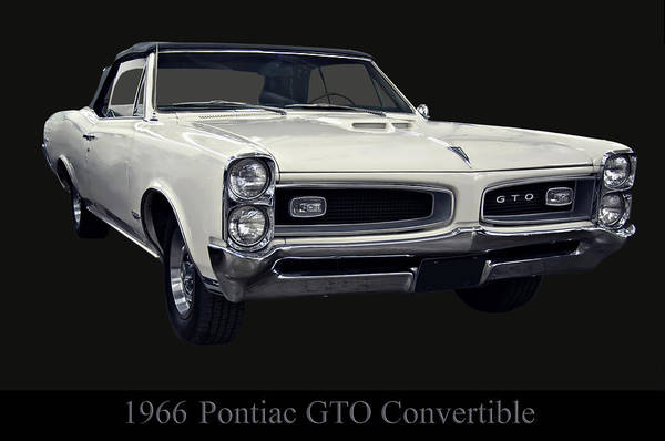 Photograph - 1966 Pontiac Gto Convertible by Chris Flees
