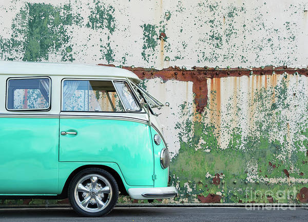 Wall Art - Photograph - 1966 Split Screen Vw Campervan by Tim Gainey