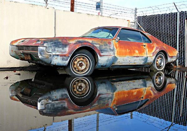 Wrecking Yard Photograph - 1966 Toronado In Decay  by Steve Natale