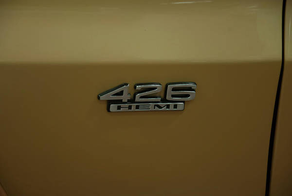 Photograph - 1967 Belvedere Gtx 426 Hemi Badge by Chris Flees