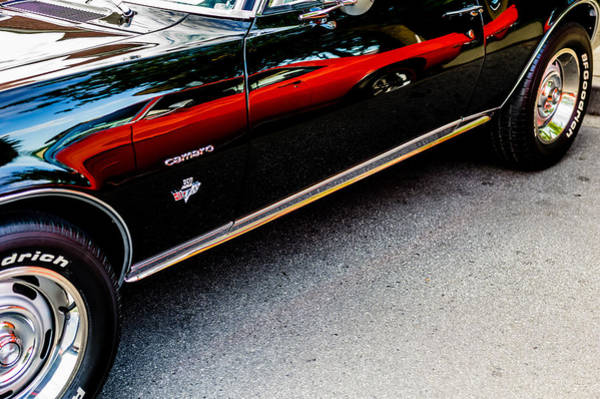 1969 Pontiac Firebird Photograph - 1967 Chevrolet Camero  by M G Whittingham