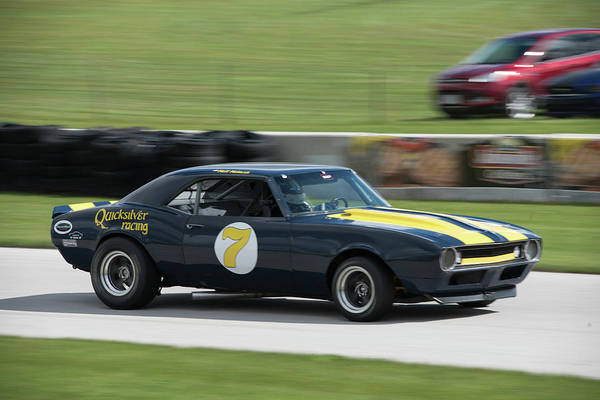 Photograph - 1967 Chevrolet Camaro by Randy Scherkenbach