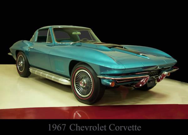 Photograph - 1967 Chevrolet Corvette 2 by Chris Flees