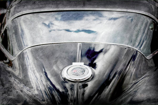 Wall Art - Photograph - 1967 Chevrolet Corvette Emblem -0162ac by Jill Reger