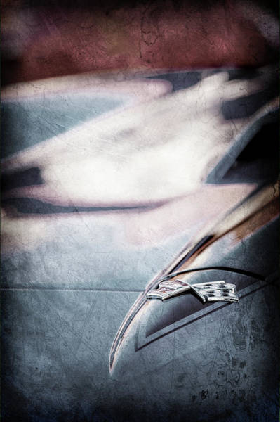 Wall Art - Photograph - 1967 Chevrolet Corvette Emblem -0429ac by Jill Reger