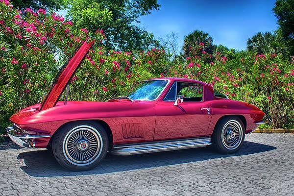 Photograph - 1967 Corvette by Carlos Diaz