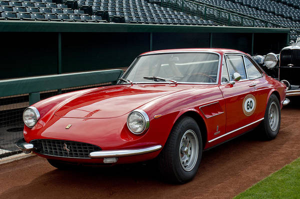 Photograph - 1967 Ferrari 330 Gtc by Jill Reger