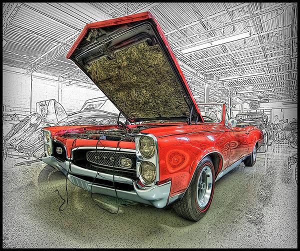 Wall Art - Photograph - 1967 Pontiac Gto American Muscle Car by Paul Cannon