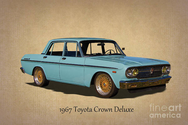 Made In Japan Wall Art - Photograph - 1967 Toyota Crown Deluxe 2 by Nick Gray