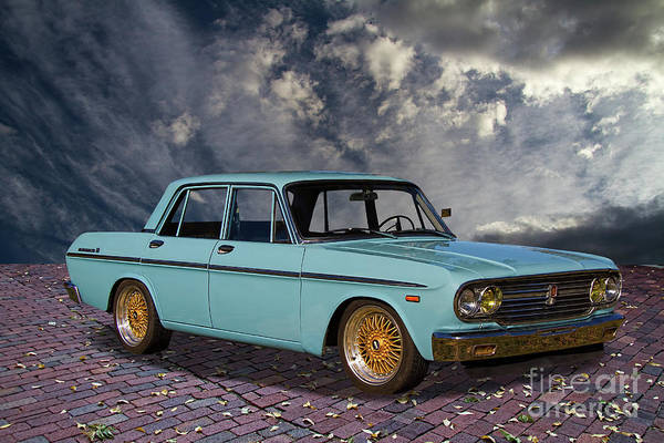 Made In Japan Wall Art - Photograph - 1967 Toyota Crown Deluxe 3 by Nick Gray