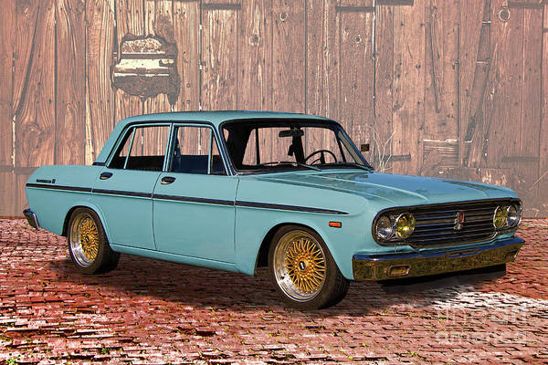 Made In Japan Wall Art - Photograph - 1967 Toyota Crown Deluxe by Nick Gray