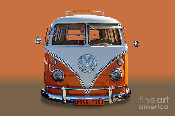 Wall Art - Photograph - 1967 Vw Bus 13 Window by Nick Gray