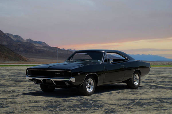 Photograph - 1968 Dodge Charger Rt 440 by Tim McCullough