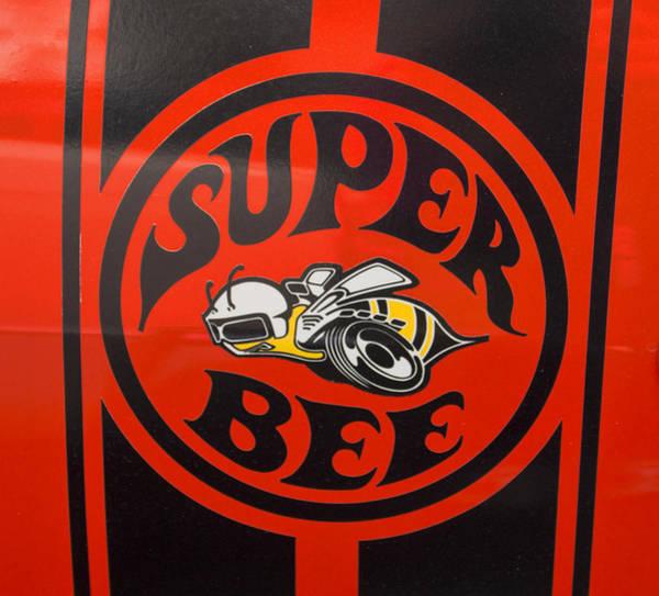 Photograph - 1968 Dodge Coronet Super Bee Emblem by Kristia Adams