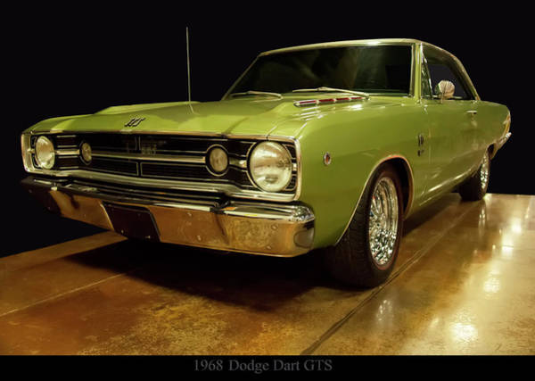 Photograph - 1968 Dodge Dart Gts by Chris Flees