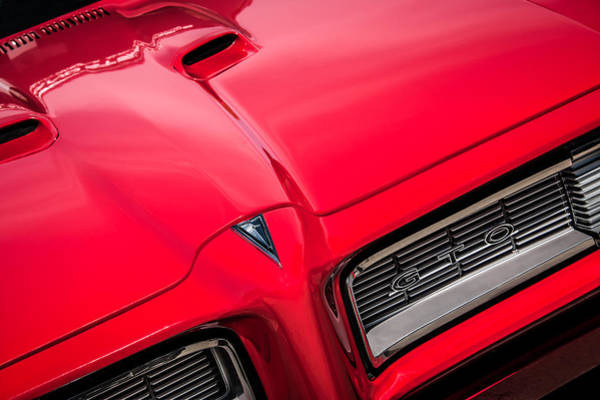 Photograph - 1968 Pontiac Gto Grille Emblem -0740c by Jill Reger