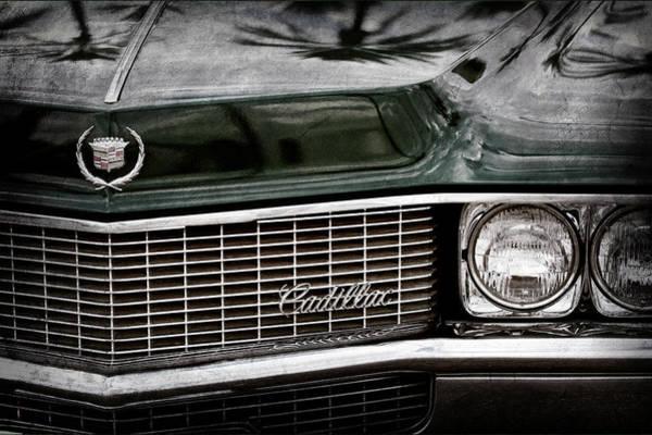 Eldorado Photograph - 1969 Cadillac Eldorado Grille Emblem -0270ac by Jill Reger