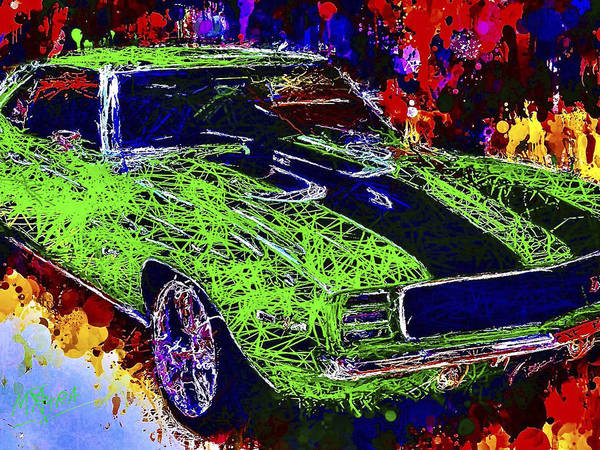 Mixed Media - 1969 Camaro Z28 by Al Matra