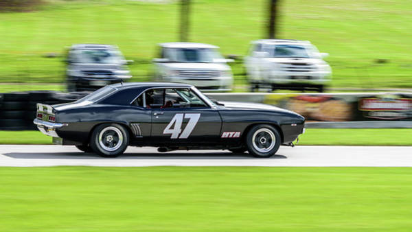 Photograph - 1969 Chevrolet Camaro Z28 by Randy Scherkenbach