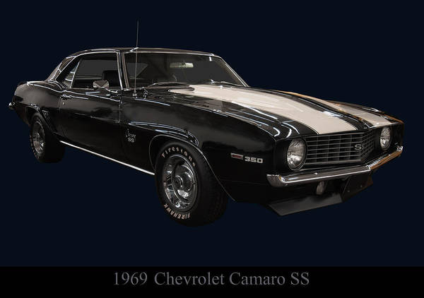 Photograph - 1969 Chevy Camaro Ss by Chris Flees