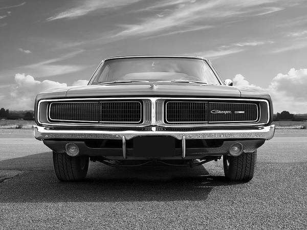 Wall Art - Photograph - 1969 Dodge Charger  by Gill Billington