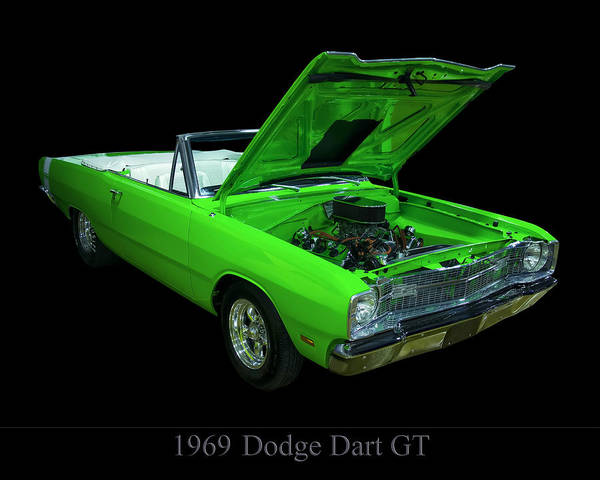 Photograph - 1969 Dodge Dart by Chris Flees