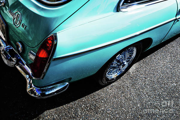 Photograph - 1969 Mgb Gt by M G Whittingham