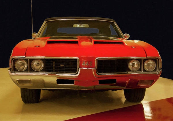 Photograph - 1969 Oldsmobile 442 W30 Digital Oil by Chris Flees