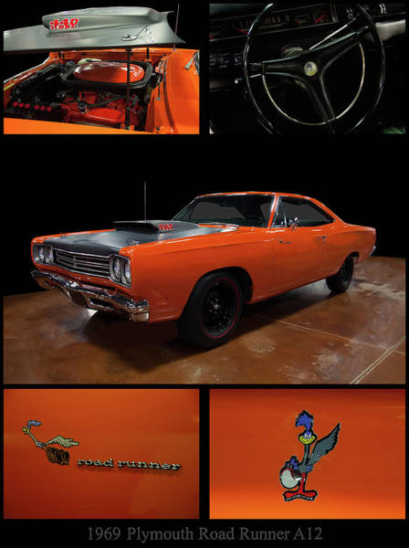 Photograph - 1969 Plymouth Road Runner A12 by Chris Flees