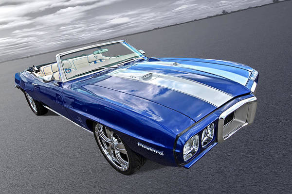 Wall Art - Photograph - 1969 Pontiac Firebird 452 Convertible by Gill Billington