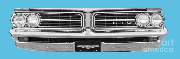Wall Art - Digital Art - 1969 Pontiac Gto  by Jack Pumphrey