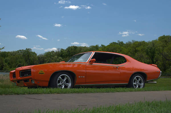 Photograph - 1969 Pontiac Gto Judge by Tim McCullough