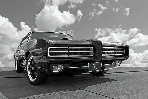 Wall Art - Photograph - 1969 Pontiac Gto The Goat by Gill Billington