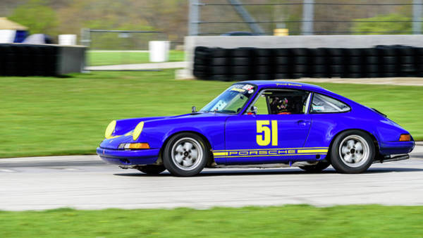 Photograph - 1969 Porche 911s by Randy Scherkenbach