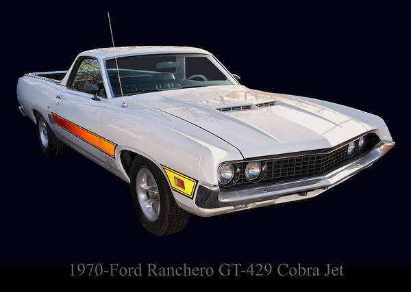 Photograph - 1970 Ford Ranchero Gt 429 Cobra Jet by Chris Flees