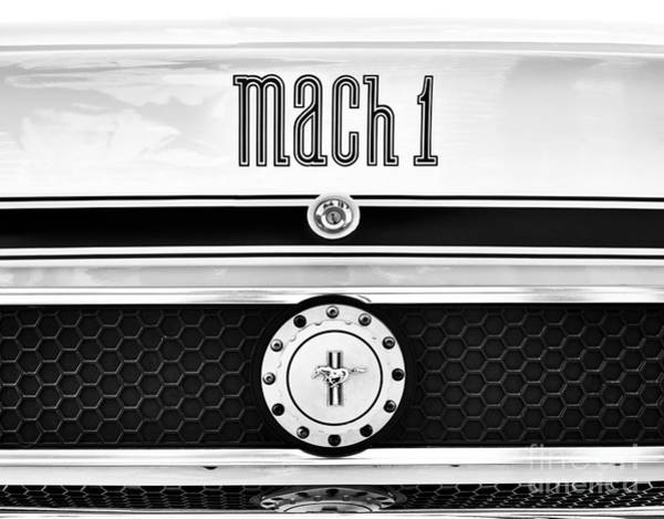 Ford Motor Company Photograph - 1970 Mustang Mach 1 by Tim Gainey