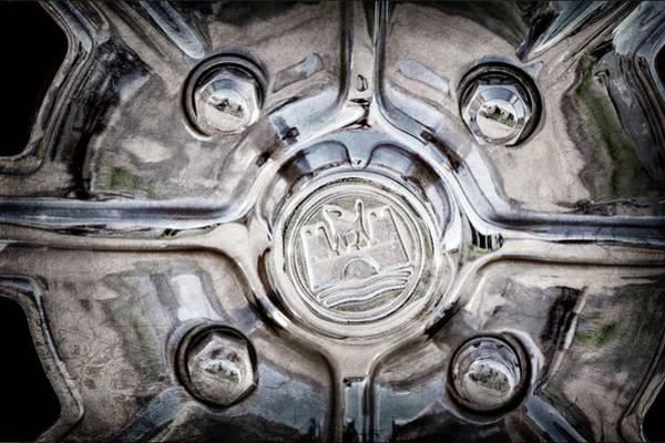 Wall Art - Photograph - 1970 Volkswagen Vw Karmann Ghia Wheel -0475ac by Jill Reger