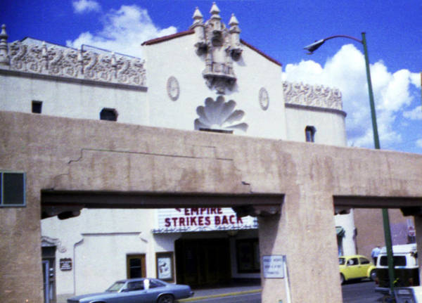 Photograph - 1970s Lensic Theater Santa Fe by Marilyn Hunt