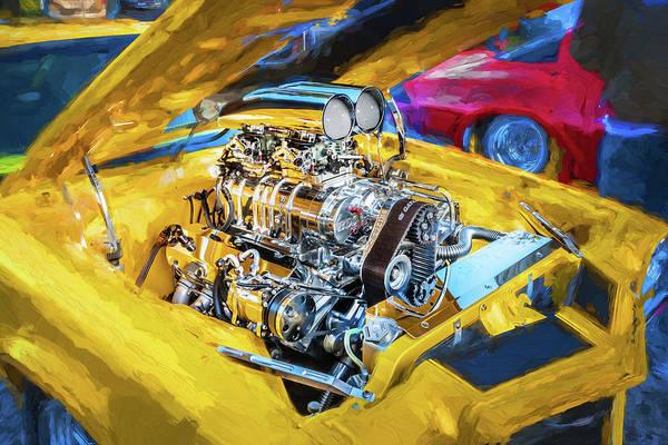 Photograph - 1971 Chevrolet Camaro by Rich Franco