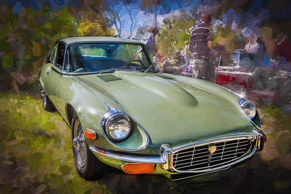 Photograph - 1971 Jaguar 3 Series E Type 2 Plus 2  by Rich Franco