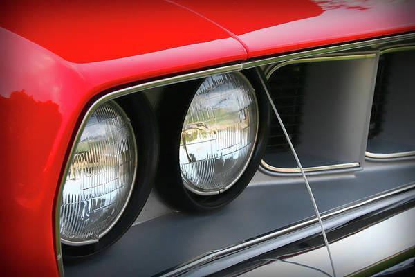 Mopar Photograph - 1971 Plymouth Barracuda Cuda Red  by Gordon Dean II