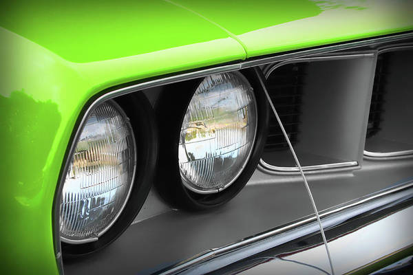 426 Photograph - 1971 Plymouth Barracuda Cuda Sublime Green by Gordon Dean II