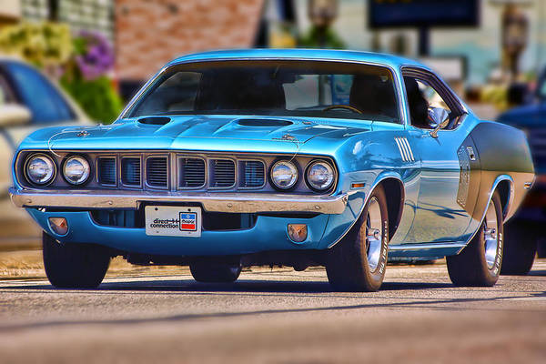 426 Photograph - 1971 Plymouth 'cuda 383 by Gordon Dean II