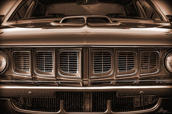 426 Photograph - 1971 Plymouth 'cuda 440 by Gordon Dean II