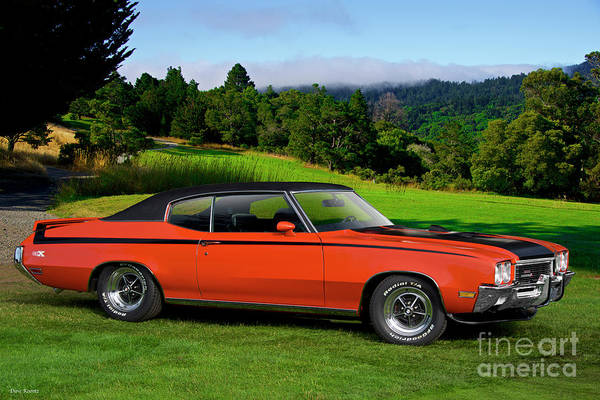 Gsx Photograph - 1972 Buick Gsx 455 Stage 1 by Dave Koontz