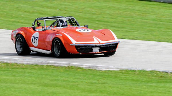 Photograph - 1972 Chevrolet Corvette by Randy Scherkenbach