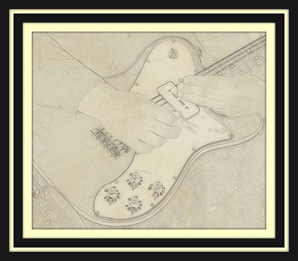 Wall Art - Photograph - 1972 Fender Telecaster Custom by Chris Berry