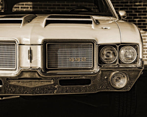 Wall Art - Photograph - 1972 Olds 442 - Sepia by Gordon Dean II