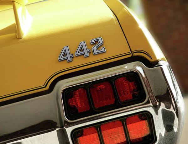 Oldsmobile 442 Wall Art - Photograph - 1972 Oldsmobile Cutlass 4-4-2 by Gordon Dean II