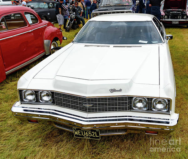 Photograph - 1973 Chevrolet Impala by Colin Rayner